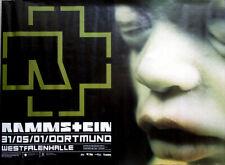 RAMMSTEIN - 2001 - Konzertplakat - Mutter - Embryo - Tourposter - Dortmund