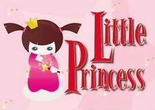 Little Princess Bedroom Nursery door Child Girl baby Gift Small Metal/Tin Sign