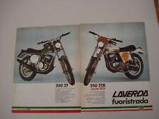 advertising Pubblicità 1975 MOTO LAVERDA 250 2T/2TR
