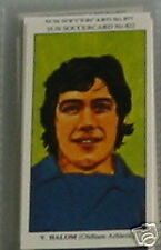vic halom oldham athletic soccer Collector card 822