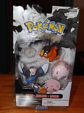 "POKEMON 3 FIGURE SET, TEPIG, DRILBUR, AND MUNNA 2.5"" FIGURES, NEW IN BOX, 2011"