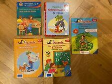 Kinderbücher für Erstleser (1. Lesestufe) Leserabe u.a. 4 x gebunden, 1 TB