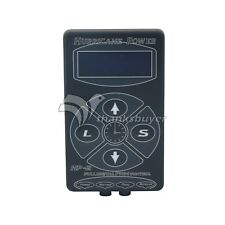 HP-2 Black Tattoo Power Supply Digital Dual LCD Machine 100V-240V Hurricane
