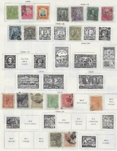 18 Brazil Stamps from Quality Old Antique Album 1900-1924