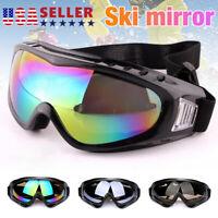 1-10 Pack Snow Ski Goggles Anti-fog Lens Snowboard Snowmobile Motorcycle USA