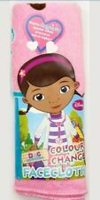 Pink Doc Mc Stuffins Brand New Facecloth Magical Cloth Travel Fun CHANGES COLOUR