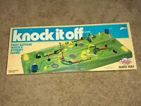 Vintage 1978 Marx Toys Knock It Off Fast Action Wacky Street Game see descriptio