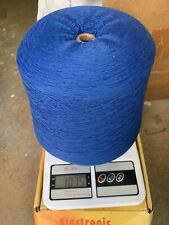 blend with 70% lambswool 20% angora & 10% nylon yarn cone color in ink blue #3