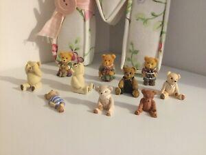 Bundle Of 10 Cute Mini Teddy Bears