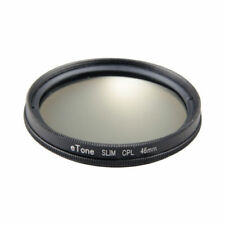 eTone Ultra Slim 46mm CPL Filter Circular Polariser Camera Lens Filter Polarizer
