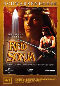 RED SONJA  (DVD,2004)  ARNOLD SCHWARZENEGGER - NEW+SEALED