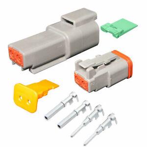2 Pin Deutsch DT04-2P DT06-2S  waterproof electrical connector