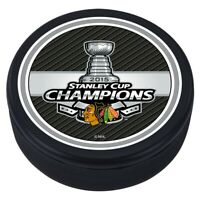Chicago Blackhawks 3D Textured 2015 NHL Stanley Cup Souvenir Hockey Puck