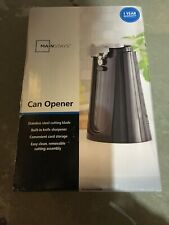 Nib Mainstays Electric Can Opener Knife Sharpener 513114 Black