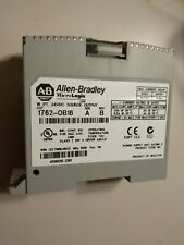 Allen-Bradley ~1762-ob16~ SER.a -REV.b~Micrologix 16 Pt 24vdc Source Output