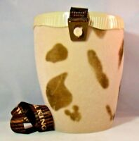 Disney Parks Animal Kingdon Popcorn Bucket Drum Lanyard Lid Animal Print Safari