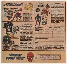 1968 Color Comic Book Ad For Marvel Super Hero T-Shirts & Sweatshirts