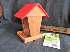 Homegrown Cedar Junior Hopper Bird Feeder by Legacy Global, LLC, NC - NEW!!!