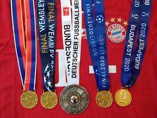 FC Bayern München Champions League Supercup Meister Medaillen SET 2001 2013 2020