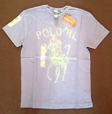 RALPH LAUREN BOYS SS BIG POLO PLAYER T ROYAL 8 RRP £34 NOW £17.00