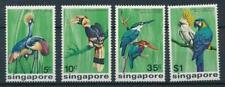 SINGAPORE 1975 BIRDS STAMPS SET VERY FINE MNH TOP161