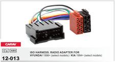 CARAV 12-013 Conector ISO OEM Radio Adaptador HYUNDAI 1998+, KIA 1994+