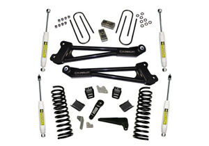 Superlift 13-18 for Dodge Ram 3500 4WD 4in Lift Kit Replacement Radius Arms w/