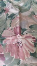 Mill Creek Floral Upholstery Fabric Screen Print About 1 Yard