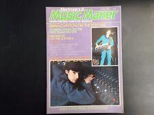 Electronics & Music Maker April 1984  Fad Gadget  Roland Tr-909  MSQ-700