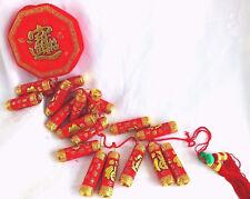 XXXL 115 cm Chinese deco or rouge artificielle des pétards Mariage Fête Japonais