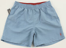 Men's POLO RALPH LAUREN Light Blue Swimsuit Trunks XXL 2XL NWT NEW 4106177