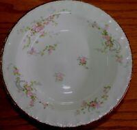 7 Vintage Pope & Gosser Florence Pattern Soup Salad Bowls Pink Rose Garlands