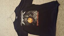 DragonForce Inhuman Rampage tour shirt XL black