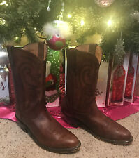 Red Head Women's Leather Brown Cowboy Boots Size 9 M