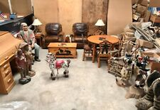 COWBOY INDIAN WESTERN MOLESWORTH STYLE FURNITURE 27 PIECE COLLECTION BEAUTIFUL!