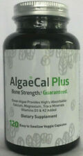AlgaeCal Plus Bone Strength Dietary Supplement Vitamins D3 K2  exp 12/2022