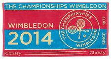 GENUINE OFFICIAL WIMBLEDON CHAMPIONSHIPS TENNIS 2014 TOWEL SOLD OUT 2017 final