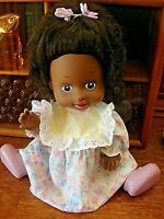 "Collectible Vintage Remco Doll-OOAK-1989 African American, 13"" Tall"