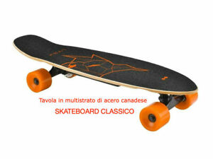 Skateboard elettrico linx two dots 15 km  tavola acero stoch magazzino