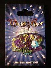 Disney DLR World of Color 2010 Alice in Wonderland Pin LE1200
