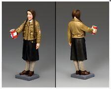 LAH237 WW2 German Winter Help BDM Girl Mint in Box Leibstandarte