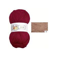 Knitting Yarn ´ Lisa ´, 50g, Colour 22, ´ Brown ´