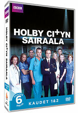 HOLBY CITY Season/ Series 1-2, R2 PAL Import , Brand New/ Sealed