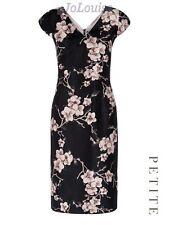 Formal Cap Sleeve V Neck Dresses Size Petite for Women