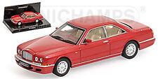 Bentley Continental R 1991-2002 Rojo Metálico 1:43 Minichamps Edición Limitada