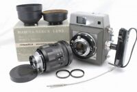 AsIs Mamiya Press Camera Body 90mm 150mm Lens Focusing Glass *2836