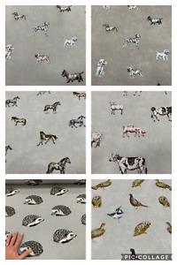 Prestigious Textiles Animal Fabrics . choose from 5 designs