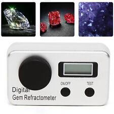Dgr-501 Digital Gemstone Refractometer Diamond Refractive Index 1.400~2.000 Ri