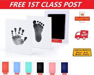 Inkless Wipe Baby Hand Foot Print Kit Keepsake Newborn Footprint Handprint Safe