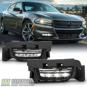 Fog Light For 2011-2015 Dodge Charger Front Driver and Passenger Side